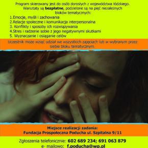 Łódzkie promuje zdrowie psychiczne - dorośli